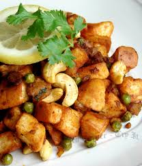 fried bread cubes