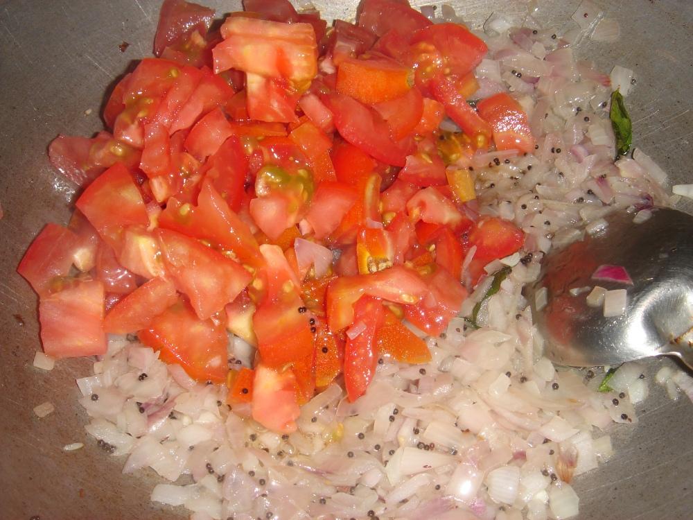 Onion ,Tomato saute