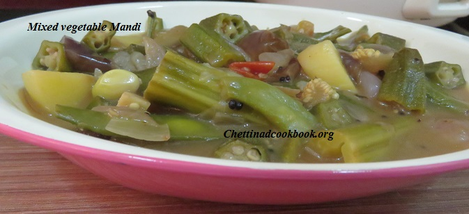 Mixed vegetable Mandi