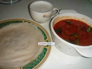 Serve with Appam