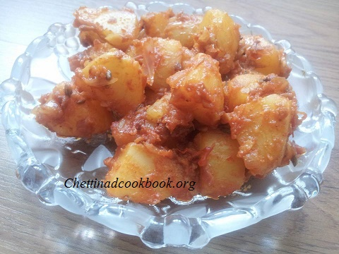 Potato chilli fry