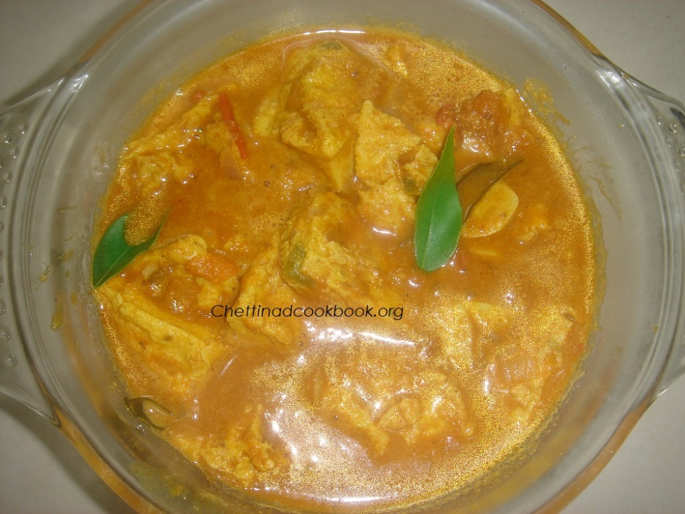 Beaten Egg curry