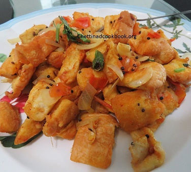 Stir-fried bread