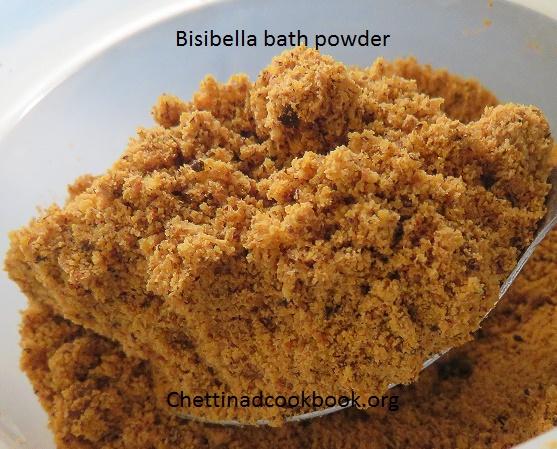 Bisi belle bath powder