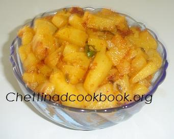Potato fast fry