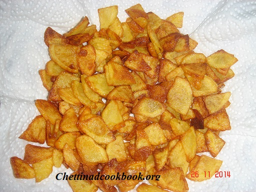 Potato triangle fry