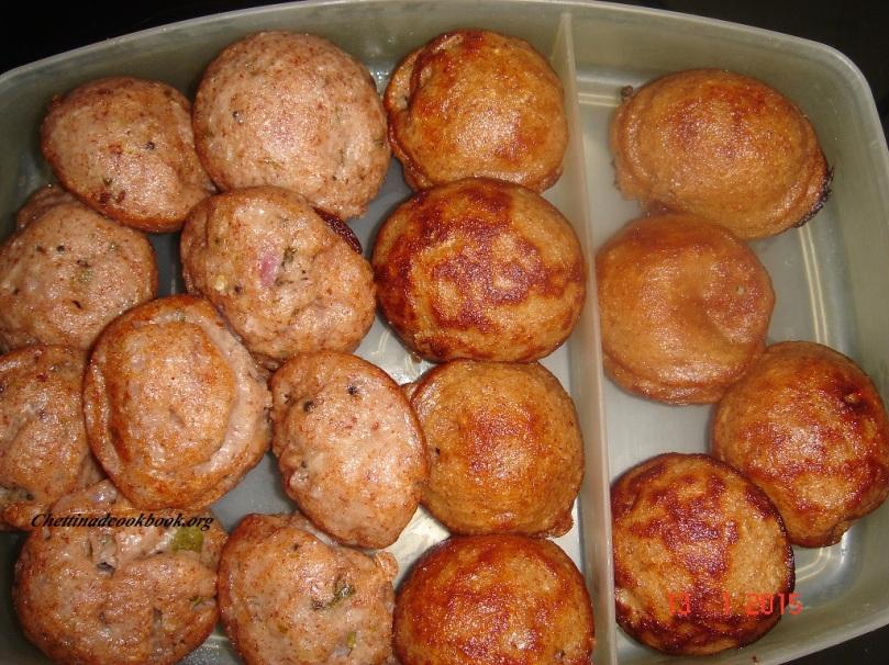 Red rice Paniyaram