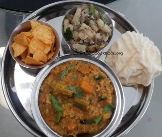 Bisibelabath /Sambar Sadham