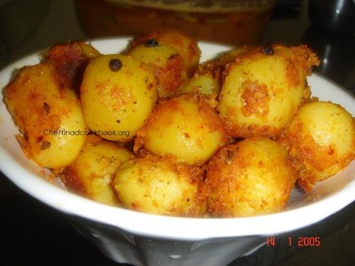 Baby Potato spicy toss