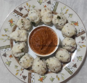 Varagu rice kozhukkattai