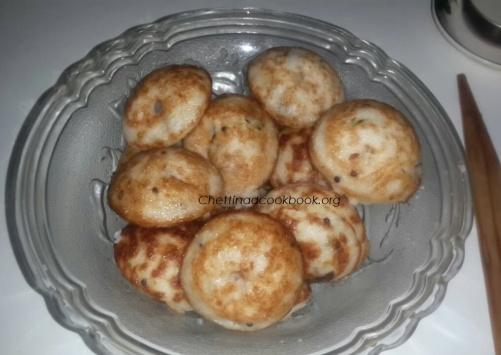 Kuthiraivaali/Barnyard millet kuzhipaniyaram