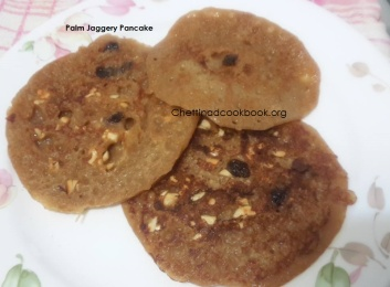 Karuppatti appam / Palm Jagery Pancake