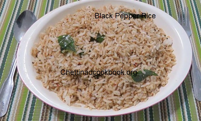 Black Pepper Rice