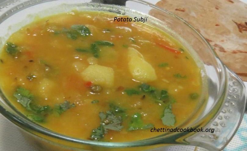 Potato Subji