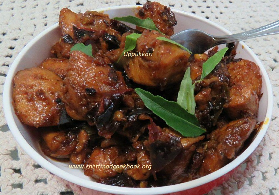 Chicken/ Mutton Milagai Varuval