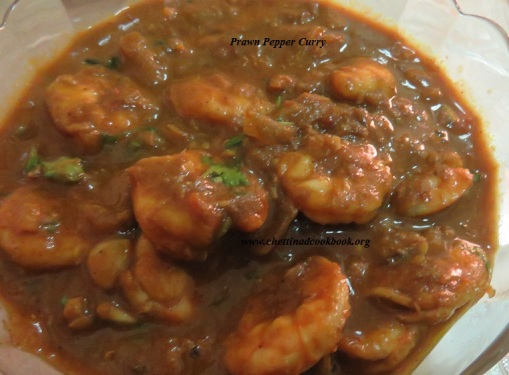 Prawn Pepper Curry