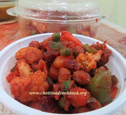 Mixed vegetable Perattal