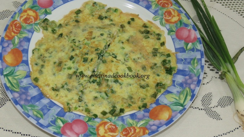 Spring Onion Omelet